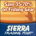 Savings on fishing gear and apparel